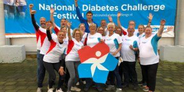 Eerste groep wandelaars uit DRV liep de Nationale Diabetes Challenge